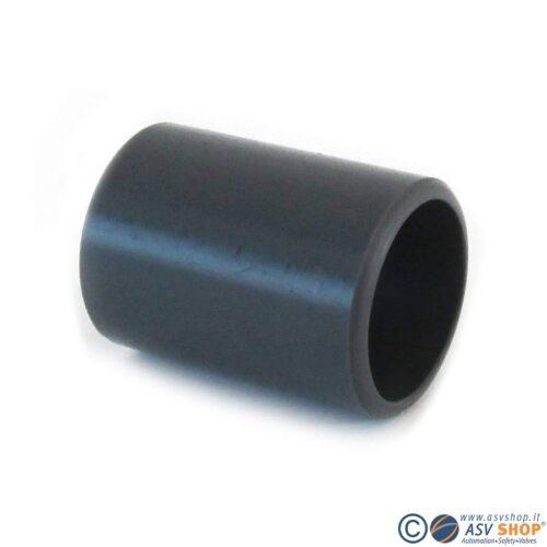 Nipplo doppio Incollaggio maschio DIN in PVC-U