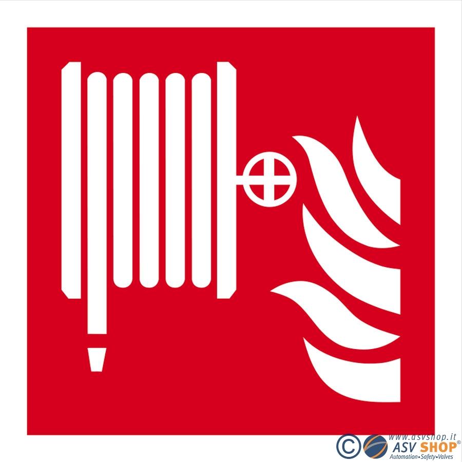 simbolo manichetta antincendio