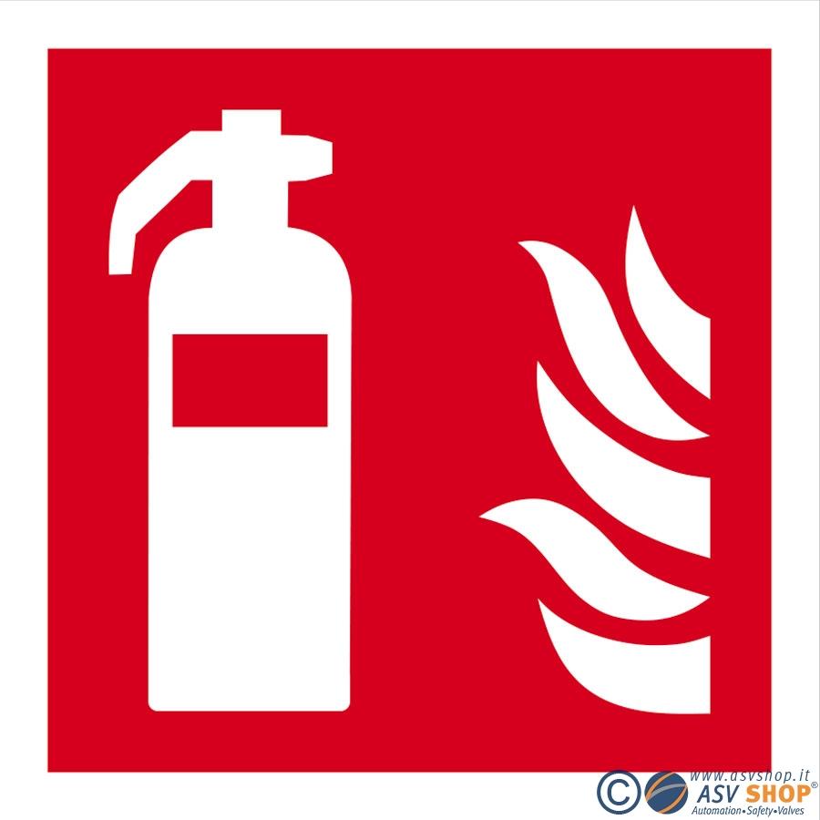Segnaletica antincendio per lotta agli incendi