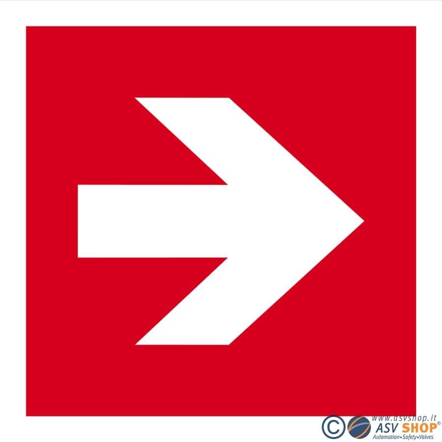 Simbolo Direzione da seguire