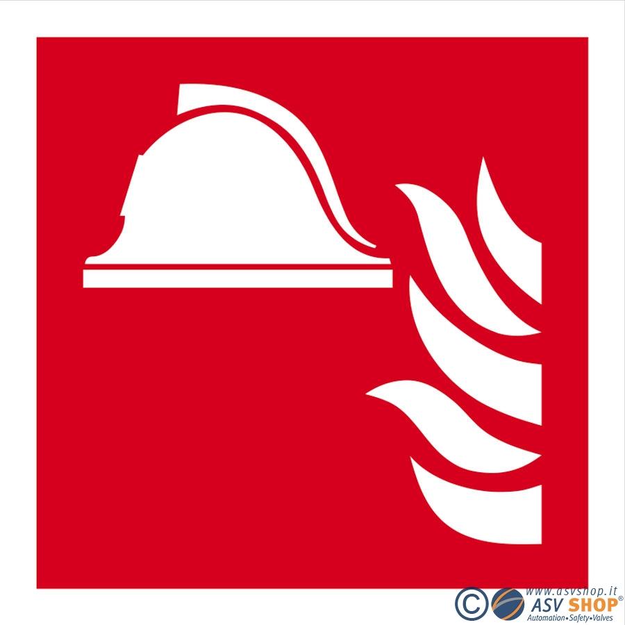 Simbolo Equipaggiamento Antincendio