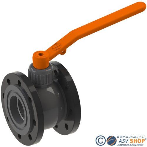 Valvola a sfera C10 in PVC