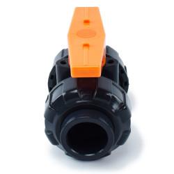 Valvola a sfera in PVC plastica manuale
