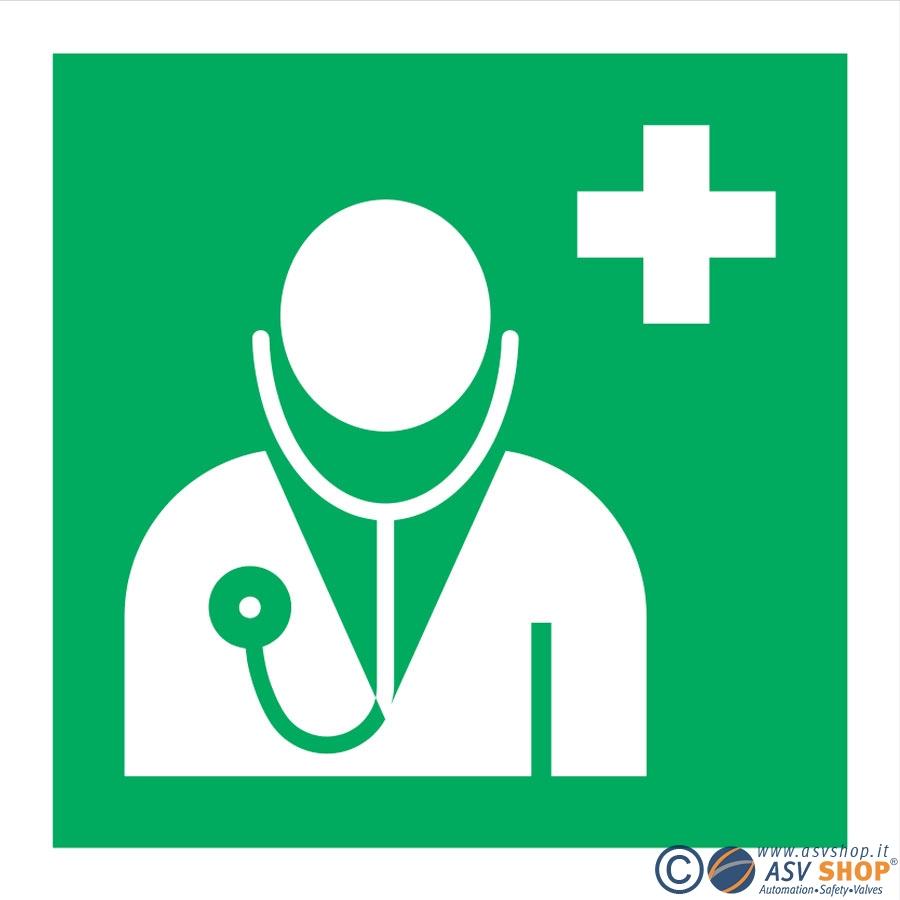 Simbolo emergenza dottore
