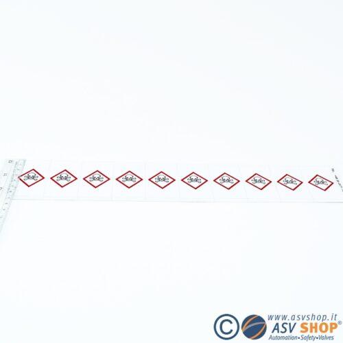 Simboli GHS adesivi da 50mm