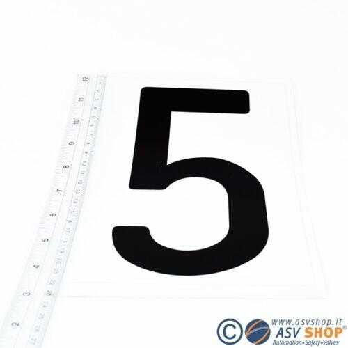 Lettere e numeri singole da 20cm