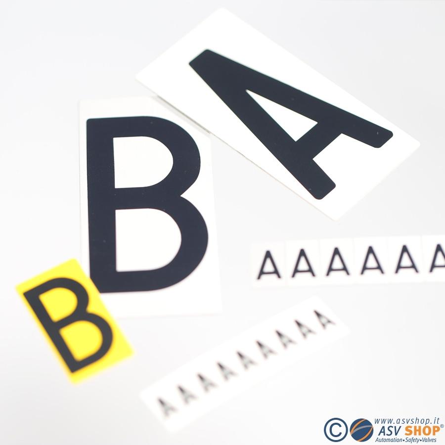 Lettere componibili per codifica