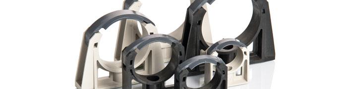 Fermatubi in plastica per tutti i tipi di tubazioni for Tipi di tubi idraulici in plastica