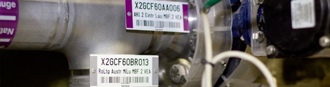 Etichette Impianti