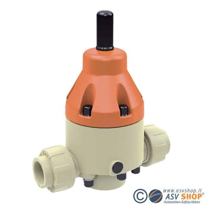 Valvola di sfioro in PP DHV 712-R