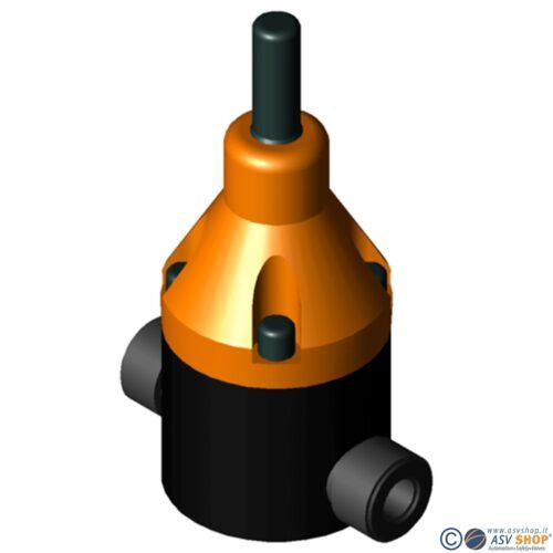 Valvola di sfioro in PTFE DHV 712-R