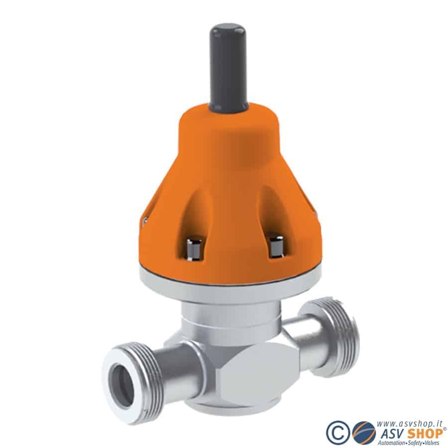 Valvola di sfioro in V4A DHV 712-R