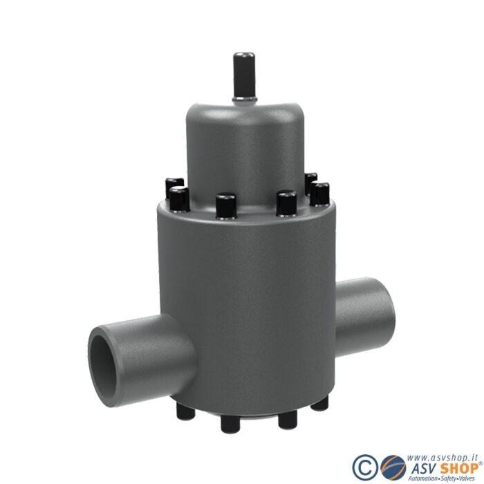 Valvola di sfioro in PVC DHV 712