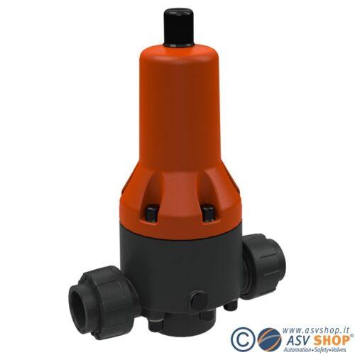 Riduttore di pressione in PVC DMV 765