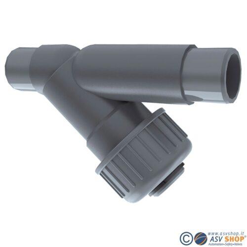Filtri PVC, PVC-C, PP e PVDF - raccoglitori di impurità SF 305
