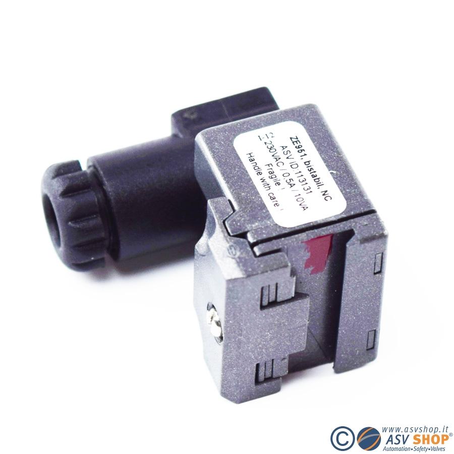 Contatti elettrici per flussometri