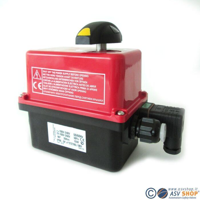 Servomotori elettrici custodia in plastica