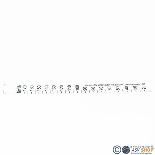 Scale aria per flussimetri a galleggiante