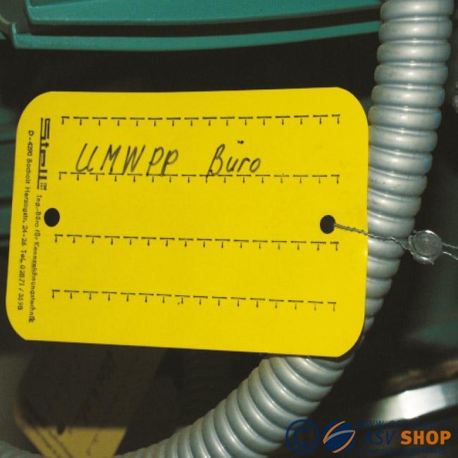 Cavetti per Etichette di precodifica per impianti industriali