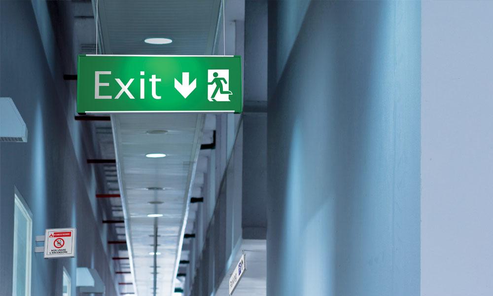 Segnaletica di sicurezza per alberghi, hotel e ospedali