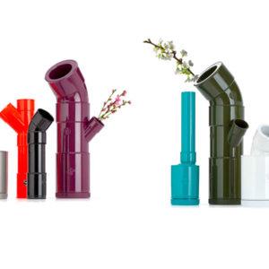 Vasi fiori raccordi in plastica