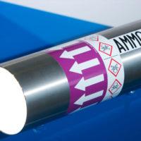 identificazione tubazioni impianti di refrigerazione processo di ammoniaca