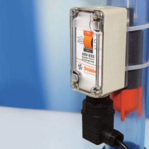livello a contrappeso e livello a galleggiante con switch bistabile