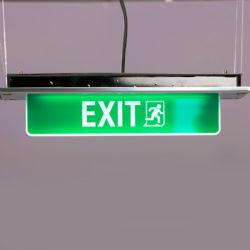 Luci LED vie di fuga luxoled