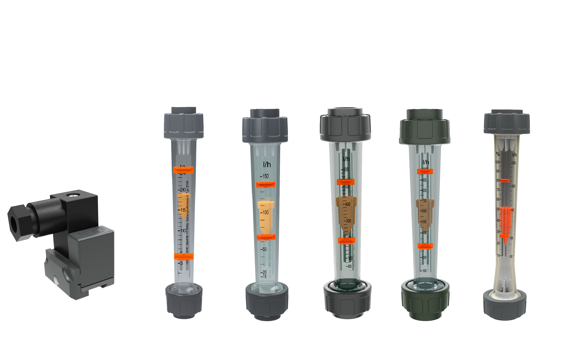 flussimetri e contatti elettrici per galleggiante magnetico