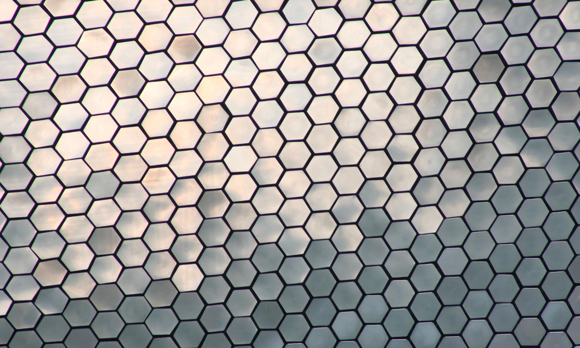 esagoni metallici acciaio