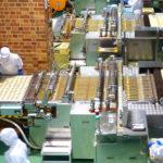 catena di lavorazione industria alimentare
