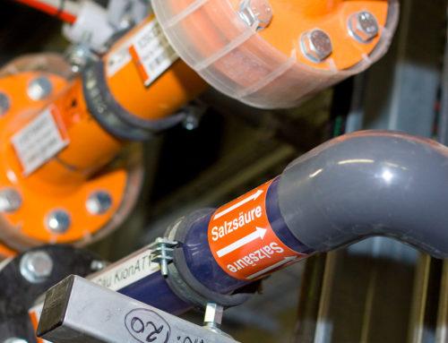 Codifica industriale: l'etichettatura dei tubi