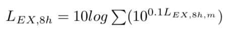 calcolo di livello di esposizione al rumore giornaliera per singolo compito