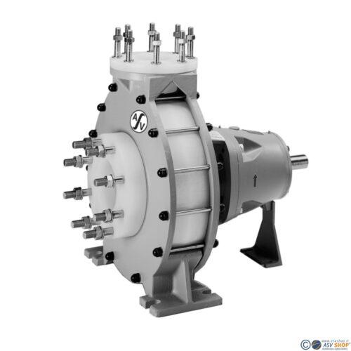 Pompa centrifuga orizzontale NM in PVDF e PP