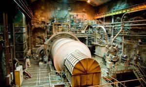 impianto minerario