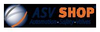 ASV Shop per Segnaletica, Strumentazione e Valvole Logo