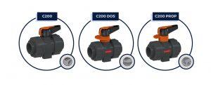 VALVOLE C200, C200DOS, C200PROP