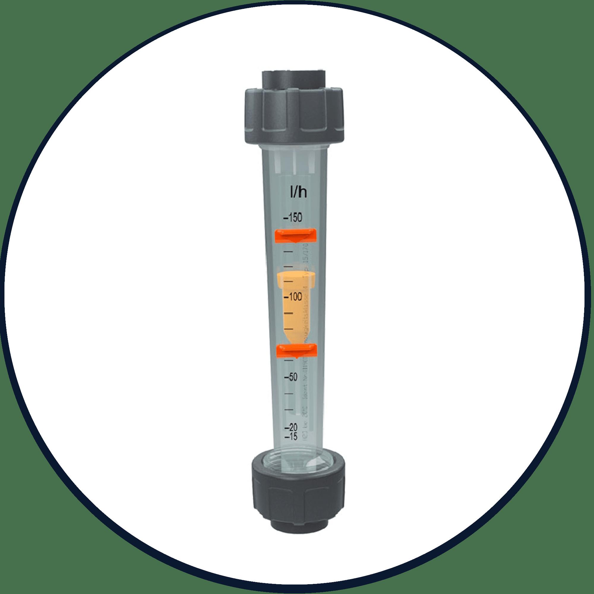Flussimetri standard o con galleggianti magnetici per il controllo remoto