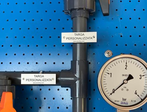 Supporti per etichette industriali